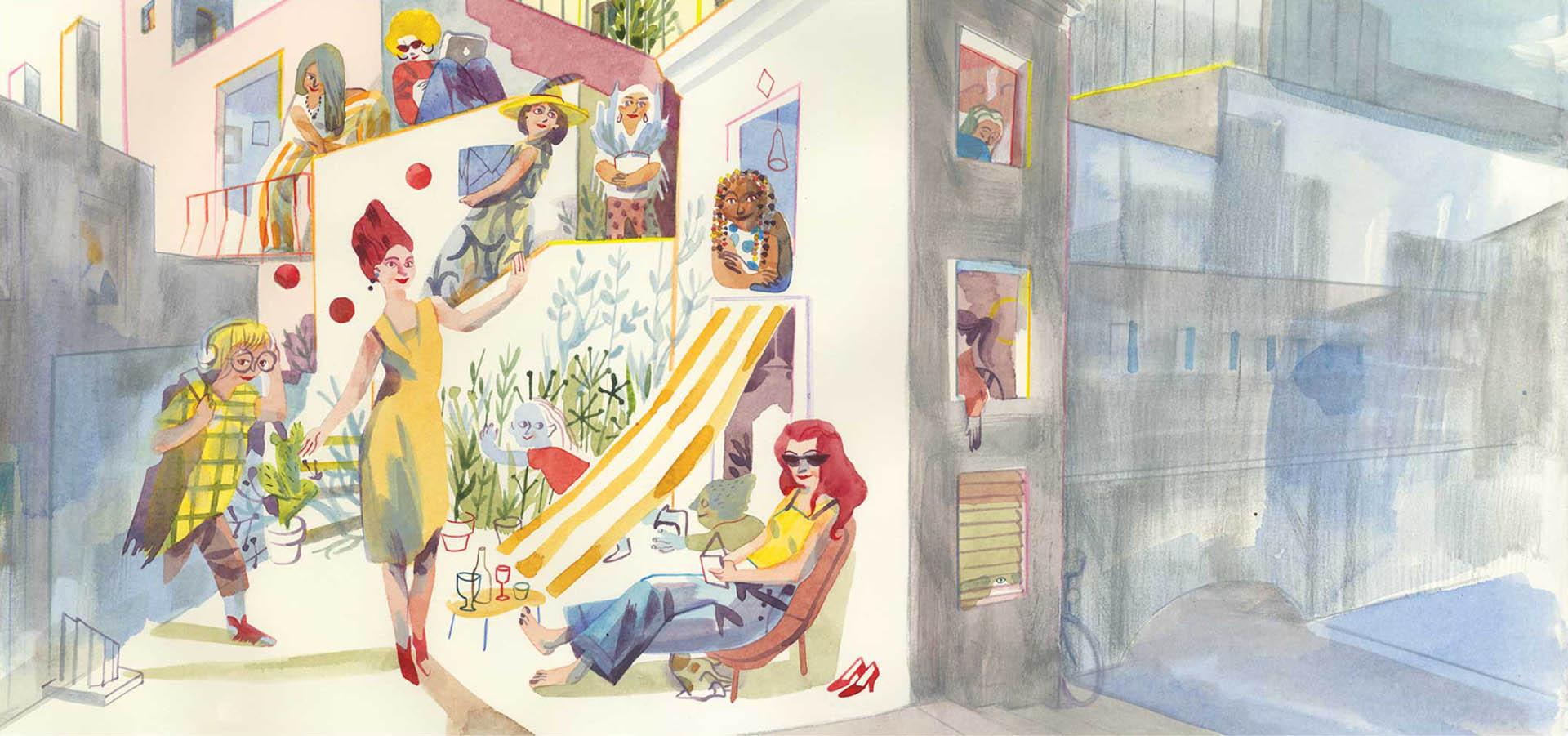 illustrazione Sara Colaone edizione 2020 Festival